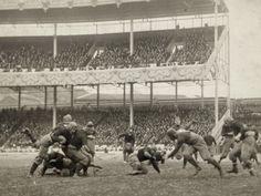 Football Game, 1916 Photographic Print at Art.com