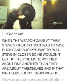 So... bromance or ROMANCE? With Steve I'm thinking bromance but Bucky... yeah I could see him being IN love with Steve