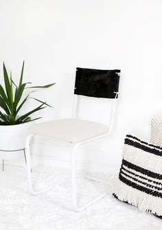 DIY Chair Makeover @themerrythought