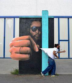 Top 7 des oeuvres de Cheone, le street-art qui déborde des murs