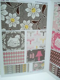 Daisy Cottage (Bee in my Bonnet) new fabric line. 