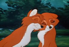 Discover & share this Foxkin GIF with everyone you know. GIPHY is how you search, share, discover, and create GIFs. Walt Disney, Disney Couples, Cute Disney, Disney Art, Cartoon Wallpaper, Disney Wallpaper, Disney Animation, Disney And Dreamworks, Disney Pixar