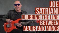 Joe Satriani Guitar Lesson - Mixing Major and Minor