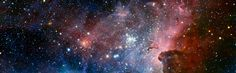 Outer space (3840x1200, space)  via www.allwallpaper.in