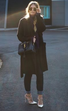 Total black look by @charlottesjus on Befitted SHOP this today!!