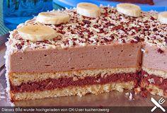 Cake with zucchini bacon and goat's cheese - Clean Eating Snacks Torte Cake, Cake & Co, Panama Recipe, Crazy Cakes, Savoury Cake, Clean Eating Snacks, I Love Food, No Bake Cake, Vanilla Cake