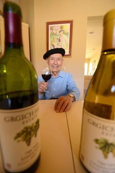 Master winemaker Mike Grgich of La Quinta put Napa Valley on the map