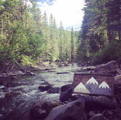 Mountain art created by a mountain man. Mountain Art, Three Sisters, Mountains, Nature, Travel, Design, Naturaleza, Viajes, Trips
