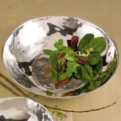 Serve fresh fruits and veggies of spring in a designer bowl:  $79.00