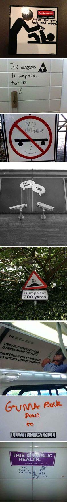 Some Random Acts Of Vandalism