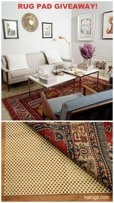 WIN A FREE RUG PAD! Enter by 3pm PST today. https://www.facebook.com/NWRug/photos/a.181982758494548.51600.173090722717085/903146156378201/ #rugs #interiordesign #homedecor #homefurnishings #decorating #giveaway #free