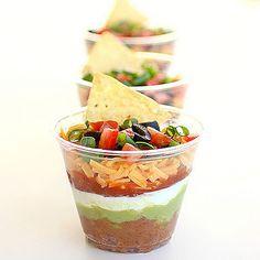 Aperitivos para servir en vasos: Nachos y salsa - Tapas, Pinchos y Aperitivos - Recetas - Página 2 - Charhadas.com