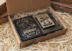 MM Identity Lab: Year of the Horse Card Deck Calendar / on Design Work Life