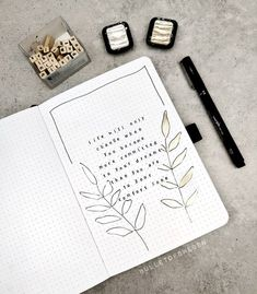Online Bullet Journal, Bullet Journal Daily Spread, Bullet Journal Paper, Bullet Journal Contents, Bullet Journal Quotes, Bullet Journal 2020, Bullet Journal Notebook, Bullet Journal Aesthetic, Bullet Journal Ideas Pages