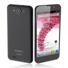ZOPO C3 Android 4.2 MTK6589T Smartphone 5.0 Inch FHD Screen 16G ROM - Black - Android Phones