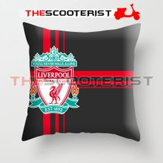 Liverpool Football Club Logo - Pillow Cover x - One Side by TheScooterist On Etsy Liverpool Football Club, Liverpool Fc, Honey, Rose Gold, Gift Ideas, Pillows, Logo, Bedroom, Trending Outfits