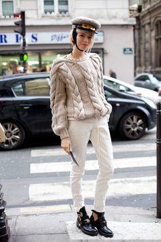 Paris Street Style Couture 2013 - 2013 Haute Couture Parisian Street Style