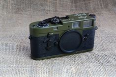 Leica M2-R Camera Body Only in Army Green RARE *Only 2000 Ever Made!