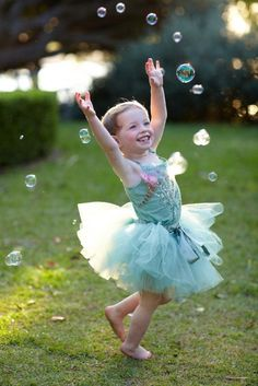simple pleasures... Bubbles & Tutu's