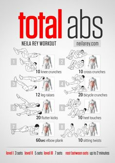 Total Abs Workout - Great for post baby ab work!