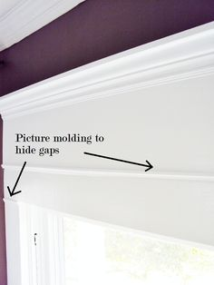 $22 molding solution for that blank space over your window (thistlewoodfarms.com)