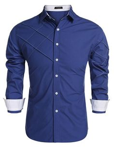 COOFANDY Men Casual Shirts – Seasonal Wear