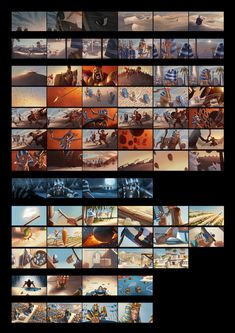 Artwork done for the Age of Empires Online cinematic trailer. I worked as Art Director on this project. Here's the movie: [link] AOE full colour script Storyboard, Bg Design, Color Script, Age Of Empires, Color Studies, Visual Development, Environment Design, Environmental Art, Color Theory