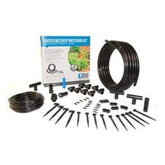 ML50 Raised Bed Drip Kit Raised Garden Beds, Raised Beds, Micro Sprinkler, Polycarbonate Greenhouse, Planting Vegetables, Vegetable Garden, Pressure Treated Timber, Drip Irrigation System, Galvanized Pipe
