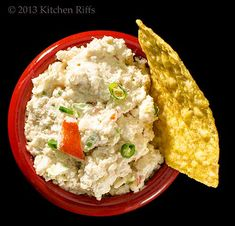 Crab Rangoon dip | from @debra gaines Hills Kitchen Riffs