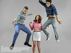 Will Poulter, Kaya Scodelario, and Dylan O'Brien, The Maze Runner at San Diego Comic-Con 2014