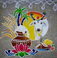 Easy Rangoli Designs Videos, Rangoli Side Designs, Rangoli Designs Latest, Simple Rangoli Designs Images, Free Hand Rangoli Design, Small Rangoli Design, Rangoli Ideas, Rangoli Designs Diwali, Rangoli Designs With Dots