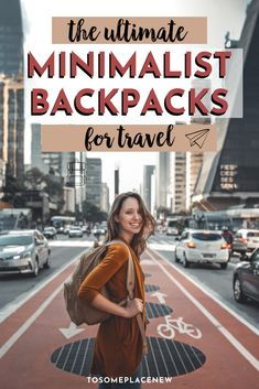 Minimalist travel backpack | Kanken backpacks and a ton of options for minimalist travel backpacks | Use them everyday, commutes, travel, picnics, short hikes and more #backpacks #cute #minimmalist Packing Tips For Vacation, Solo Travel Tips, Travel Advice, Travel Guides, Traveling Tips, Packing Lists, Travel Packing, International Travel Tips, Slow Travel