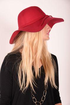 Floppy Hat - Red - HAT300RD