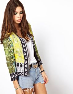 ASOS Africa Quilted Jacket - for breezy evenings watching the sunset