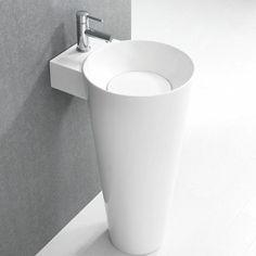 Marvelous Design of Kohler Bathroom Sinks for Modern Bathroom Decoration Idaes: Bathroom Sink Faucets Kohler Kohler Sink, Undermount Bathroom Sink, Ikea Bathroom Sinks, Gold Bathroom, Bathroom Remodeling, Modern Pedestal Sink, Armoire Ikea, Ideal Bathrooms, Wall Mounted Bathroom Sinks