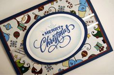 Season's Greetings Pop up Card by Stamp TV/Gina K Designs (1 of 2)