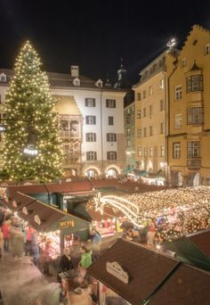 INNSBRUCK'S CHRISTMAS IN THE MOUNTAINS