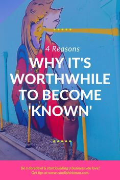 4 Reasons Why It's Worthwhile to Become Known // Candis Hickman Business Advice, Online Business, Business Quotes, Internet Marketing, Online Marketing, Social Media Quotes, Do It Yourself Fashion, Social Entrepreneurship, Online Tutoring