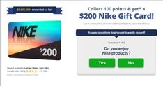 Get $200 to Spend on Nike Now! Win Free Gifts, Free Gift Cards, Diy Cards, Nike Gift Card, Nike Gifts, Discount Gift Cards, Movie Gift, Gifts For Girls, Card Wallet