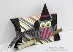 Krafting Kreations: Witchy Owl Pillow Box