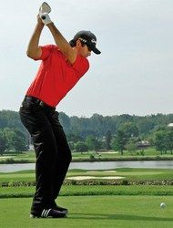 Accuracy key: The back of his left wrist matches the clubface. Swing analysis by Colin Swatton, an instructor based in Hilton Head Island.