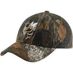 758fdf5d5d5 Zephyr Georgia Tech Yellow Jackets Mossy Oak Camo Full Draw Z-Fit Hat