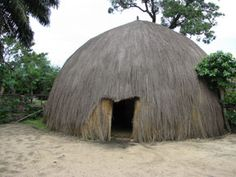 Traditional Burundese house of a king