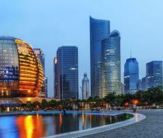 hangzhou_216525400 Hangzhou, Opera House, City, Building, Holiday, Travel, Vacations, Viajes, Buildings