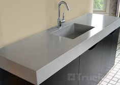 Sinks by Trueform Concrete.