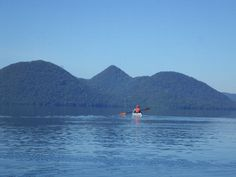Toyako sea kayak touring