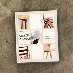 Chair Anatomy: Design and Construction (Hardcover) Interior Design Books, Chair Design, Anatomy, Construction, Factors, Perspective, Furniture, Home Decor, Beautiful