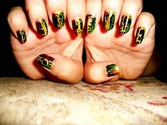 rasta+by+AbigailRichard+-+Nail+Art+Gallery+nailartgallery.nailsmag.com+by+Nails+Magazine+www.nailsmag.com+#nailart