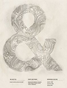 Topographic. Would make some lovely ink. & JOY  Cut by Chaz Rini