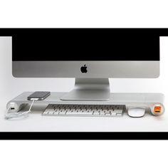iMac desk! I want that!